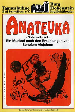 2002 - Anatevka - The Fiddler on the roof